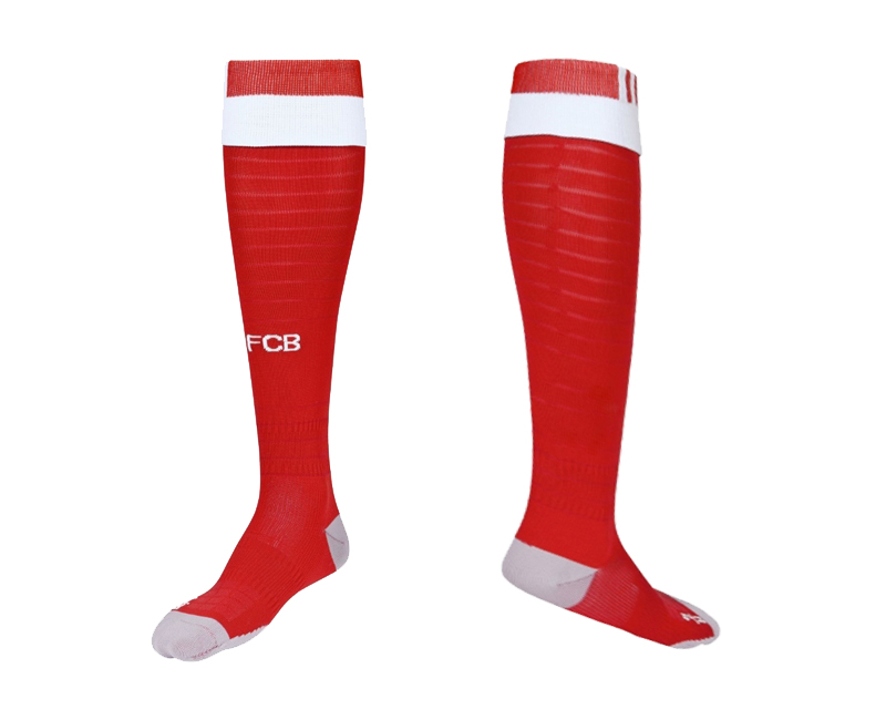 2016-17 Bayern Munich Home Youth Soccer Socks