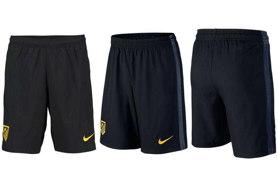 2016-17 Atletico Madrid Away Soccer Shorts