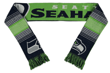 Seahawks Green Fashion Scarf
