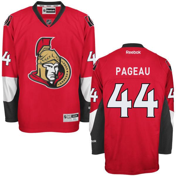 Senators 44 Jean Gabriel Pageau Red Reebok Premier Jersey