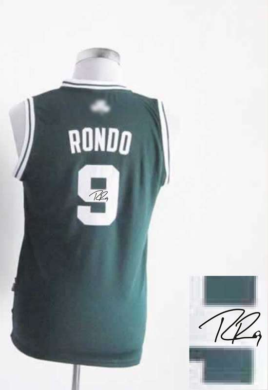Celtics 9 Rondo Green Signature Edition Women Jerseys