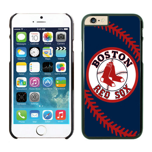 Boston Red Sox iPhone 6 Cases Black