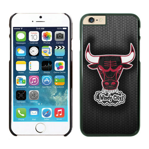 Chicago Bulls iPhone 6 Cases Black