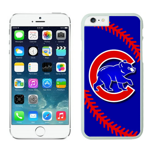 Chicago Cubs iPhone 6 Cases White