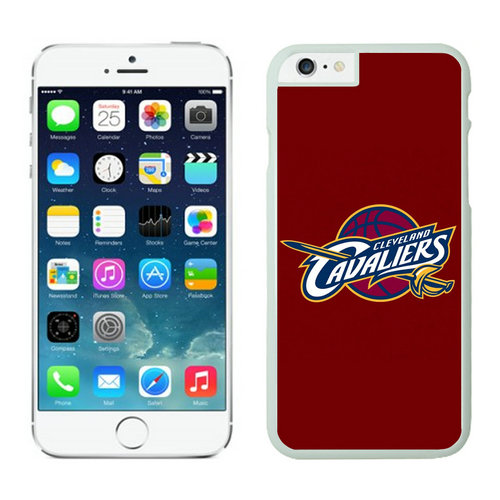 Cleveland Cavaliers iPhone 6 Cases White