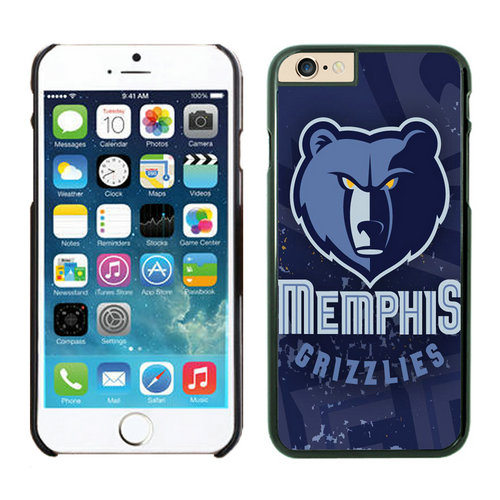 Memphis Grizzlies iPhone 6 Cases Black05