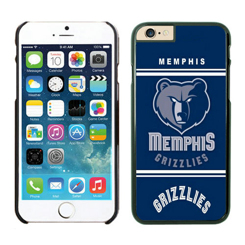 Memphis Grizzlies iPhone 6 Cases Black07