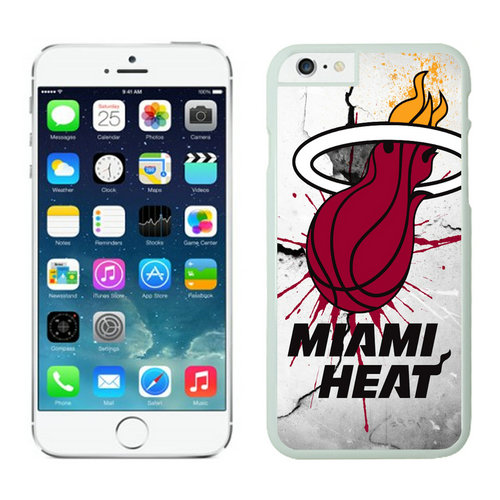 Miami Heat iPhone 6 Cases White