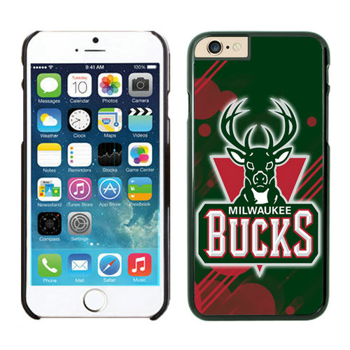 Milwaukee Bucks iPhone 6 Cases Black04