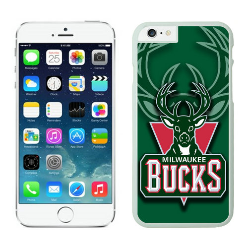 Milwaukee Bucks iPhone 6 Cases White