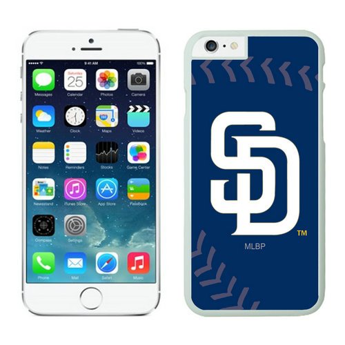 San Diego Padres iPhone 6 Cases White02
