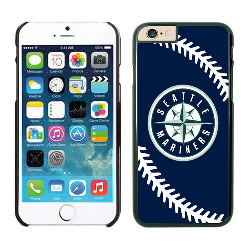 Seattle Mariners iPhone 6 Cases Black03