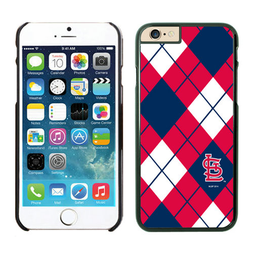 St Louis Cardinals iPhone 6 Cases Black03