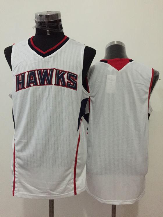 Hawks White New Revolution 30 Jersey