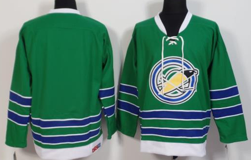 California Golden Seals Blank Green CCM Jersey