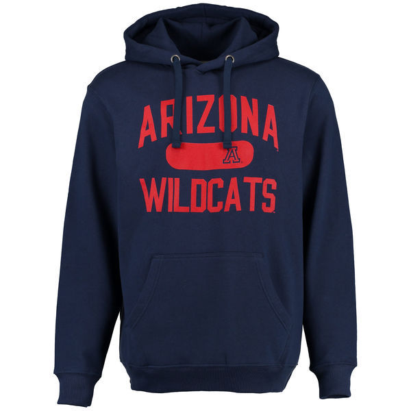 Abilene Christian University Wildcats Team Logo Navy Blue College Pullover Hoodie