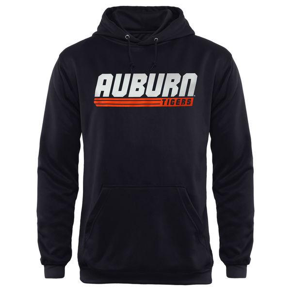 Auburn Tigers Black Team Logo College Pullover Hoodie