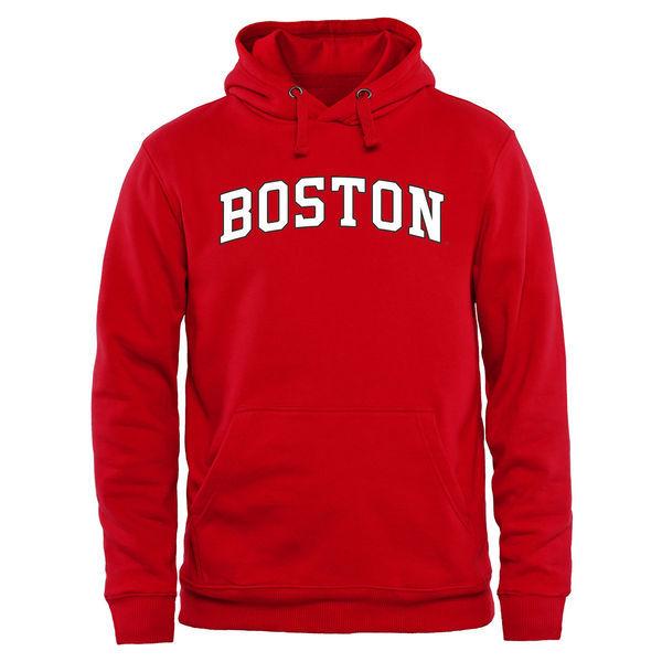 Boston University Terriers Team Logo College Pullover Hoodie2