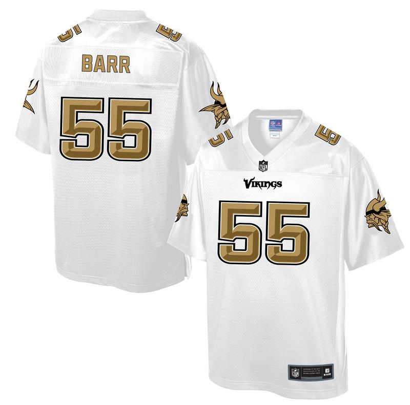 Nike Vikings 55 Anthony Barr White Pro Line Elite Jersey