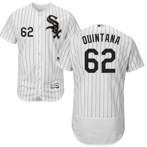 White Sox 62 Jose Quintana White Flexbase Jersey