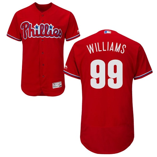 Phillies 99 Nick Williams Red Flexbase Jersey