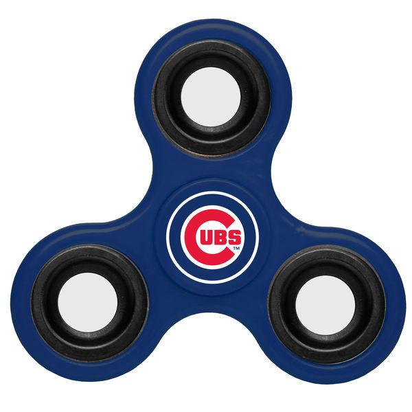 Cubs Team Logo Blue Fidget Spinner
