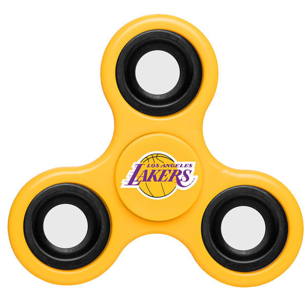Lakers Team Logo Yellow Fidget Spinner