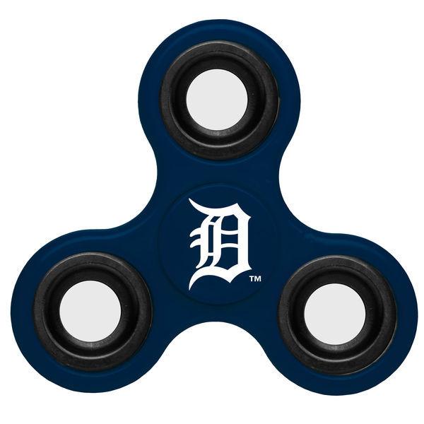 Tigers Team Logo Blue Fidget Spinner
