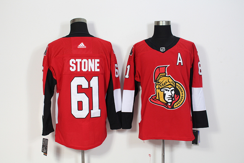 Senators 61 Mark Stone Red Adidas Jersey