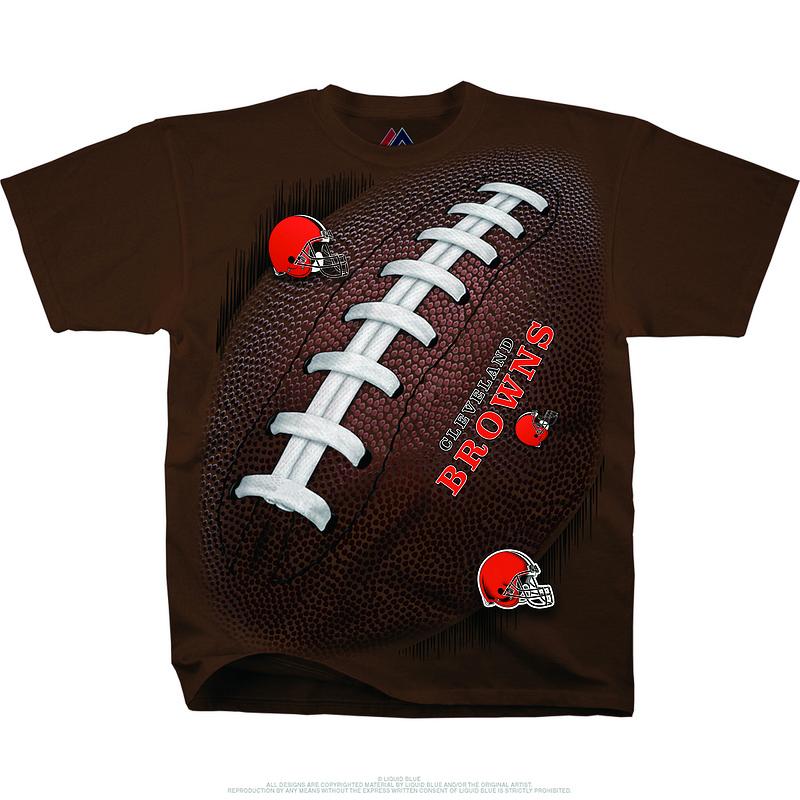 Cleveland Browns Kickoff Tie-Dye Premium Men's T-Shirt