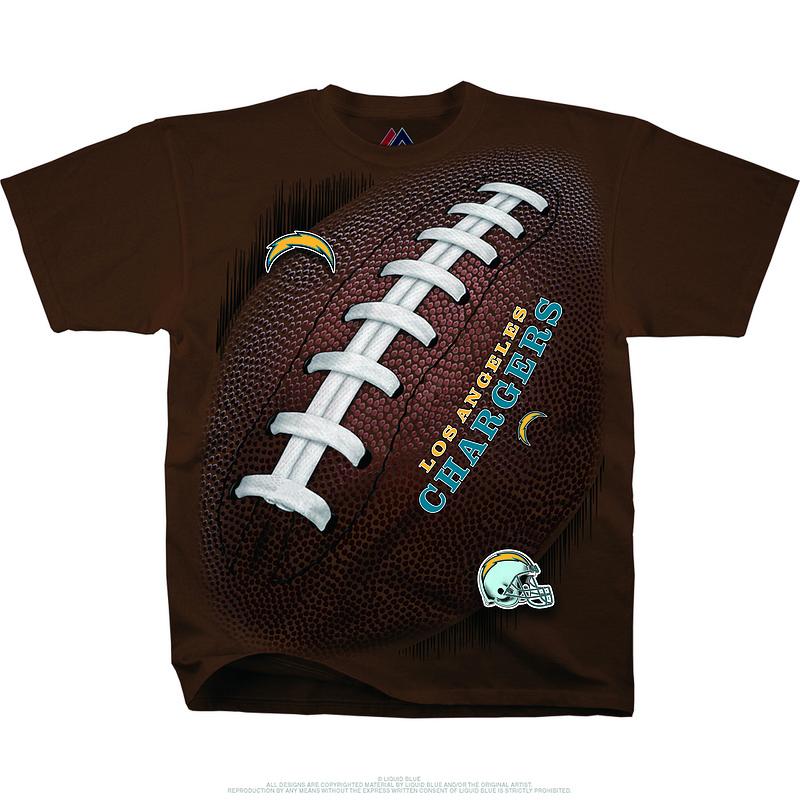 Los Angeles Chargers Kickoff Tie-Dye Premium Men's T-Shirt