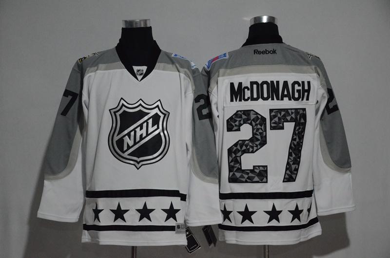 Rangers 27 Ryan McDonagh White Metropolitan Division 2017 NHL All-Star Game Premier Jersey