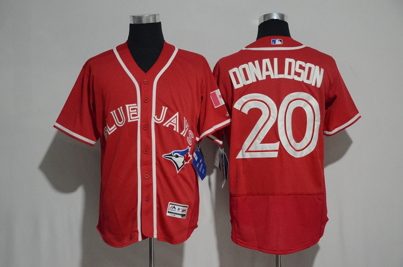 Blue Jays 2 Troy Tulowitzki Red Alternate Flexbase Base Jersey