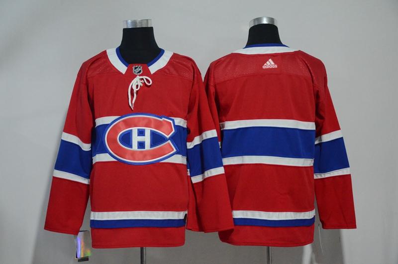 Canadiens Blank Adidas Jersey