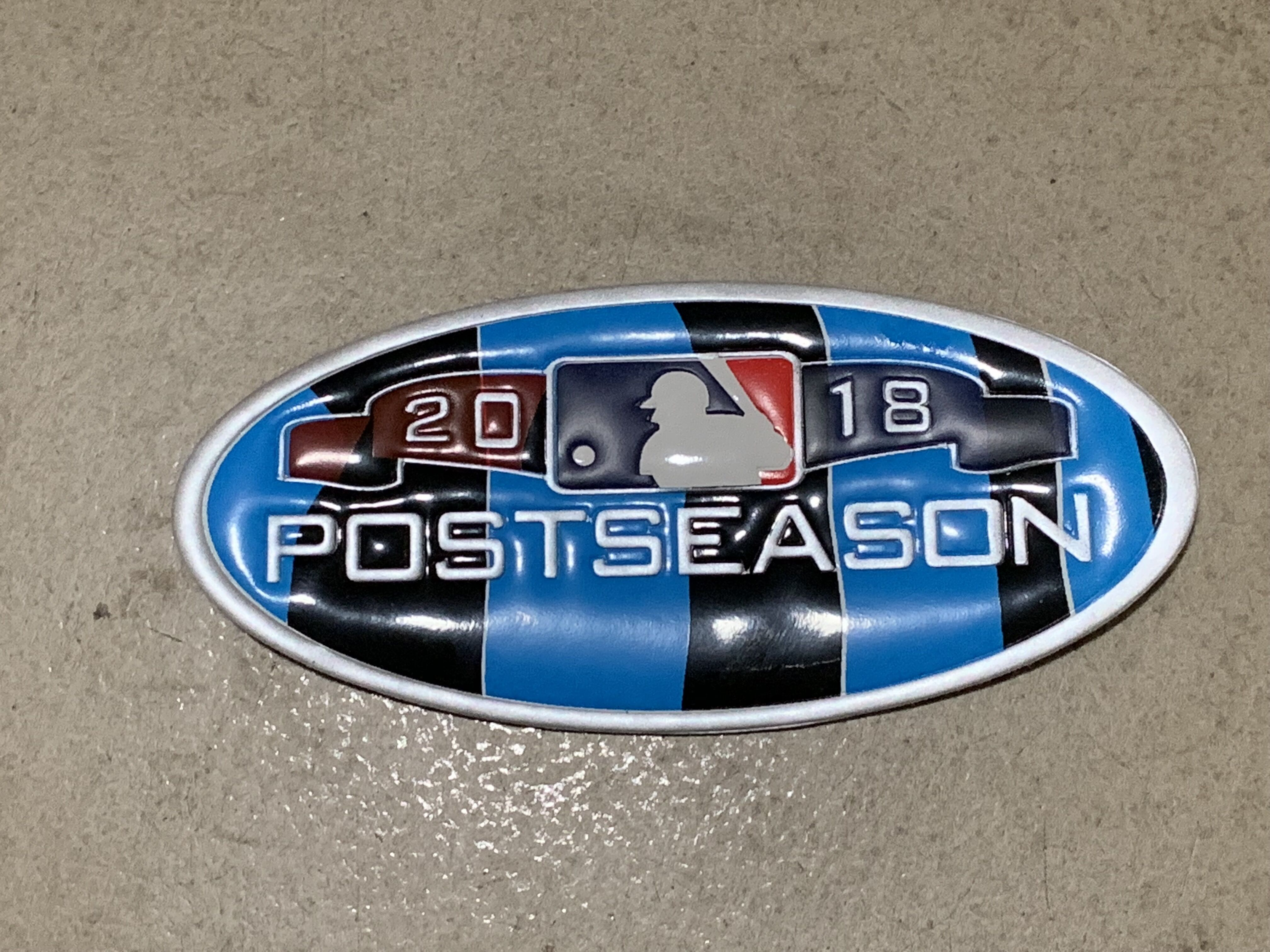 MLB 2018 Postseason Patch