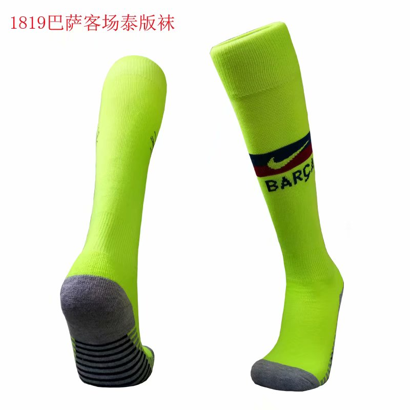 2018-19 Barcelona Away Soccer Socks