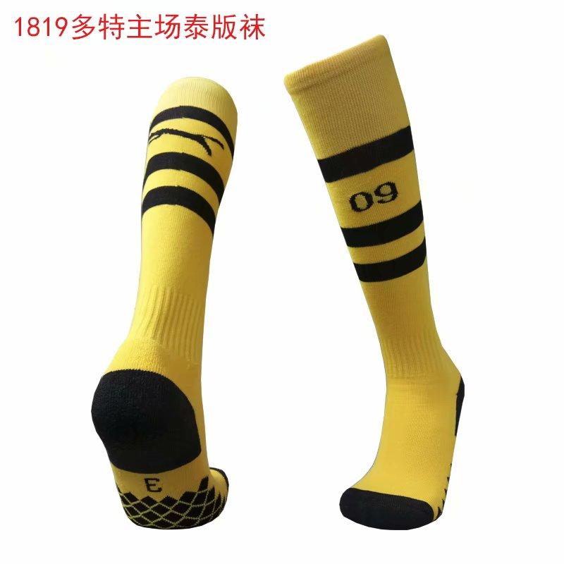 2018-19 Dortmund Home Soccer Socks