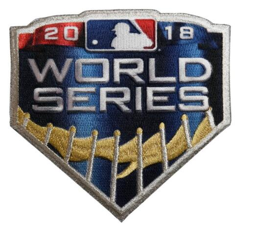 2018 MLB World Series Patch