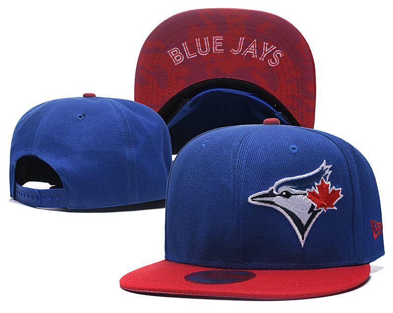 Blue Jays Fresh Logo Royal Adjustable Hat LH