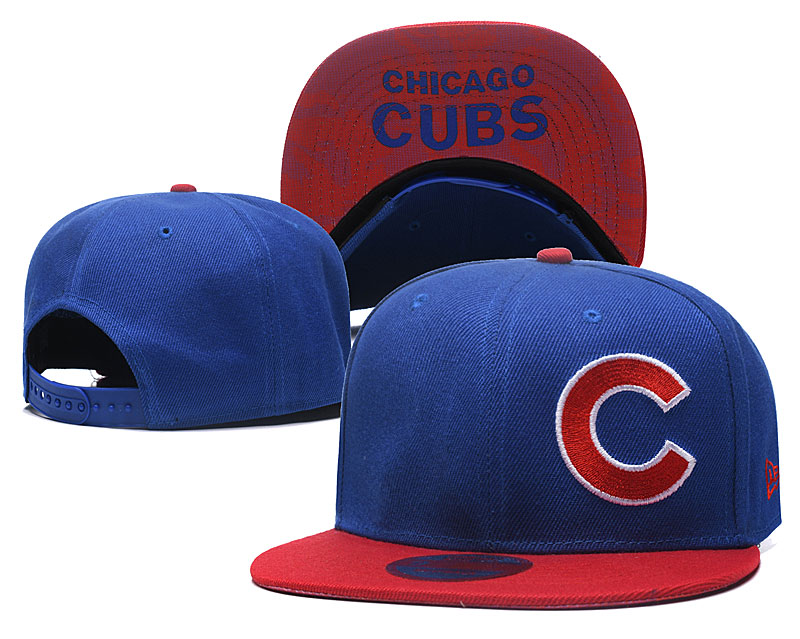 Cubs Fresh Logo Royal Adjustable Hat LH