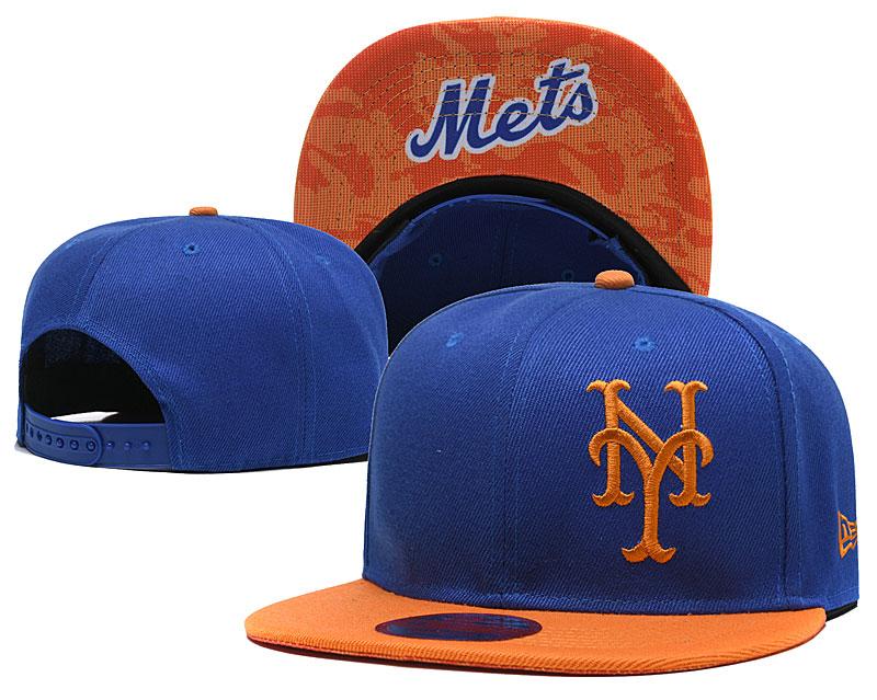 Mets Fresh Logo Royal Adjustable Hat LH