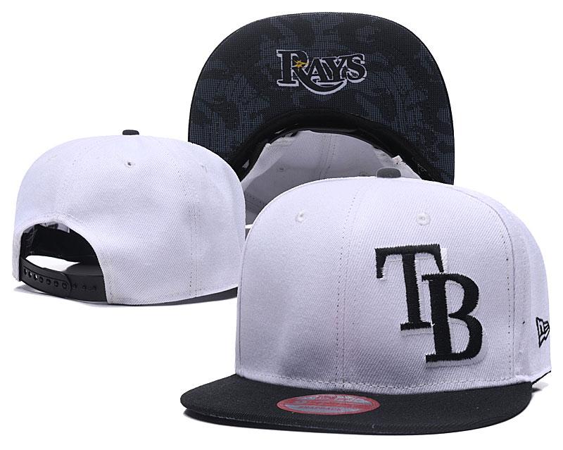 Rays Fresh Logo White Adjustable Hat LH