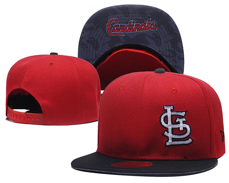 St. Louis Cardinals Fresh Logo Red Adjustable Hat LH