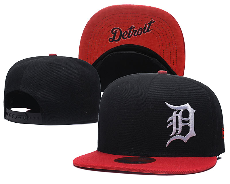 Tigers Fresh Logo Black Adjustable Hat LH