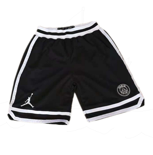 Paris Saint-Germain Black Jordan Shorts