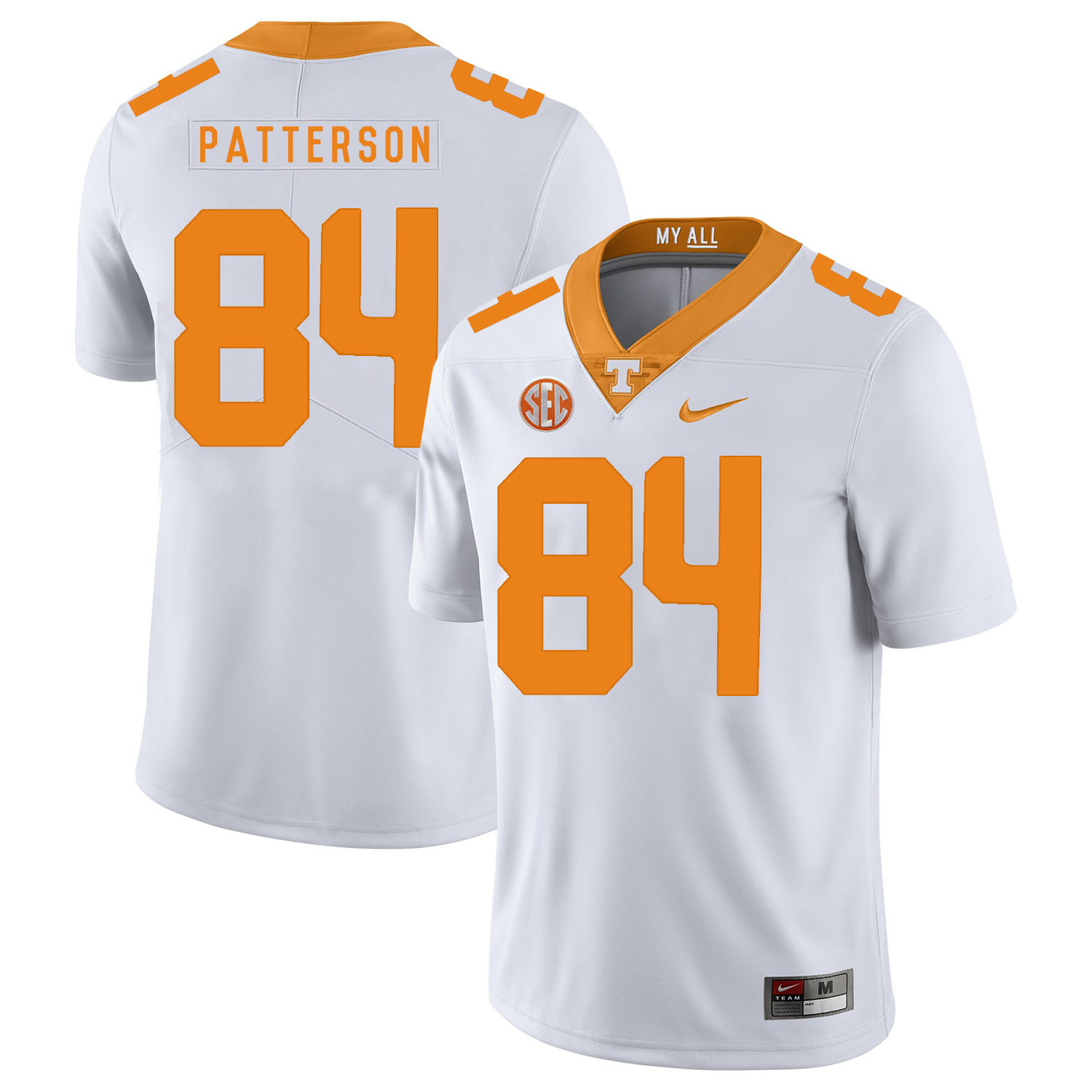Tennessee Volunteers 84 Cordarrelle Patterson White Nike College Football Jersey