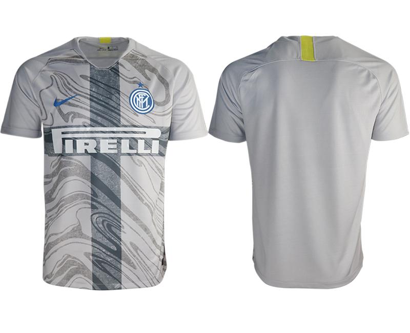 2018-19 Inter Milan Third Away Thailand Soccer Jersey