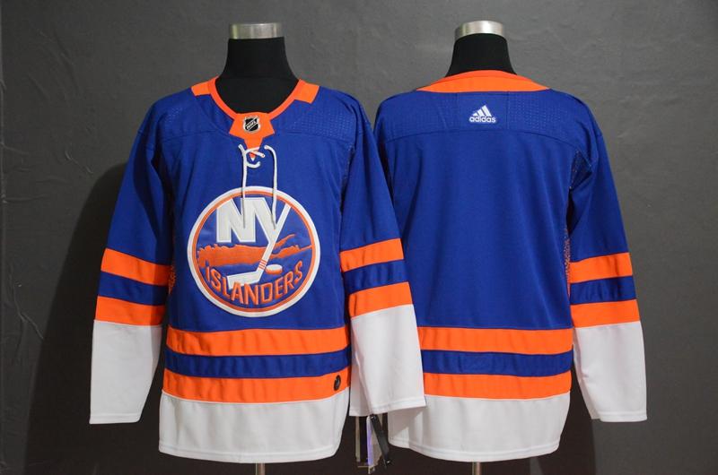 Islanders Blank Blue Adidas Jersey