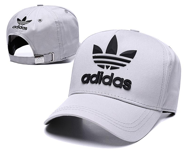 Adidas Originals Classic Gray Peaked Adjustable Hat TX