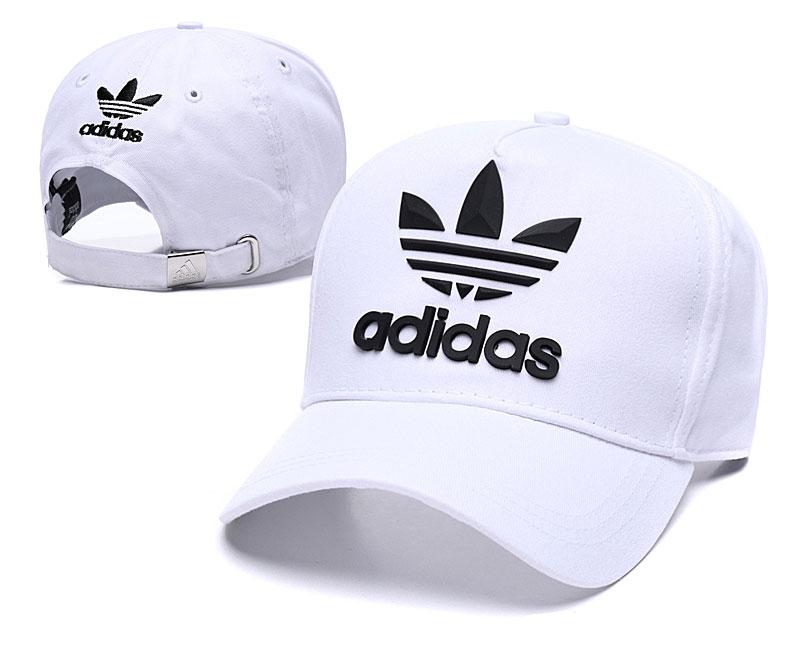 Adidas Originals Classic White Peaked Adjustable Hat TX